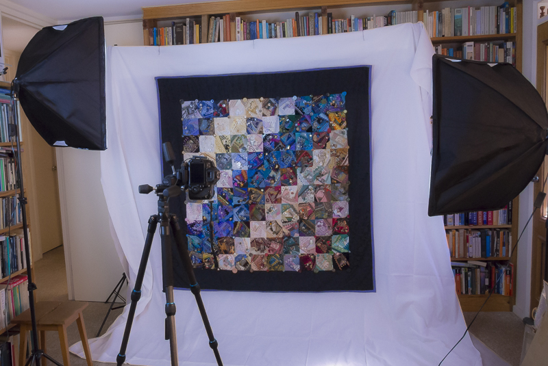 Quilt shoot - behind the scenes